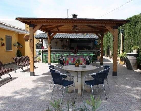 Alicante mutxamel casa rural la vendimia toda la casa for Escaleras de piscinas para personas mayores