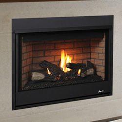 35 Merit Clean Face Direct Vent Fireplace Millivolt Pilot
