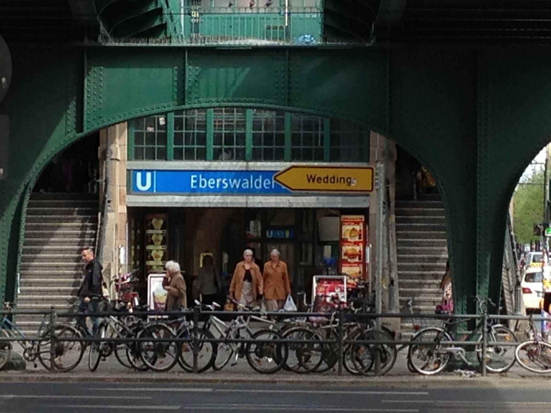 H U Eberswalder Strasse Berlin Trip Photo