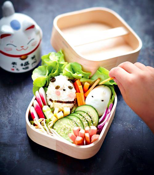 Recette rigolte et facile recette enfant un bento for Idee repas sympa