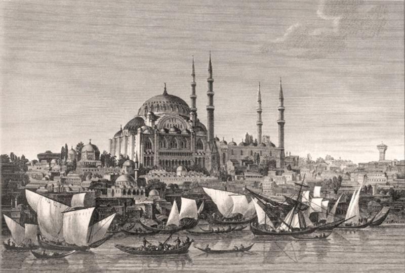 Lorieux Suleymaniye Camii Istanbul Anitlar Camii