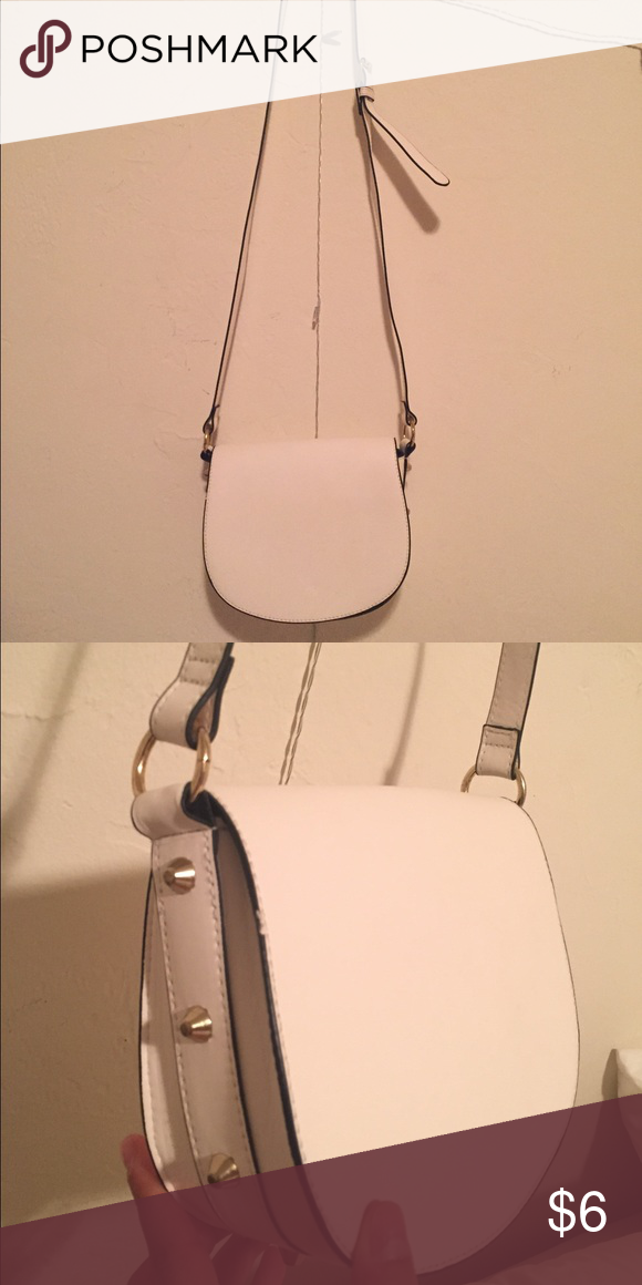 White Stud Shoulder Bag Little to no wear. Used twice. H&M Bags Crossbody Bags