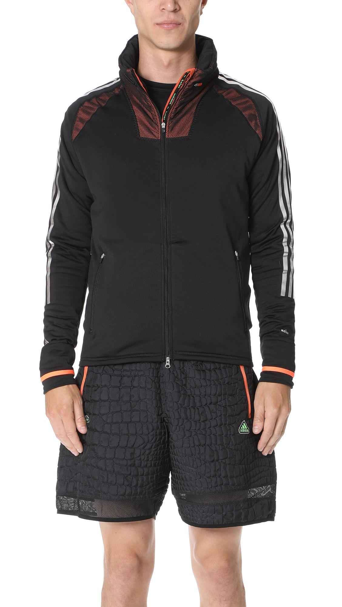Adidas By Kolor Adidas By Kolor Climaheat Hoodie Adidasbykolor Cloth Hoodies Black Mesh Top Fashion [ 2000 x 1128 Pixel ]
