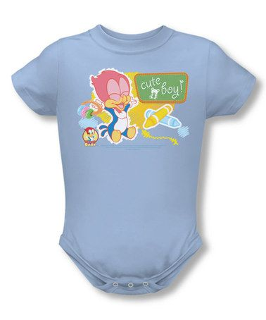 f9c7d8e52 Look what I found on #zulily! Light Blue Woody Woodpecker Bodysuit ...
