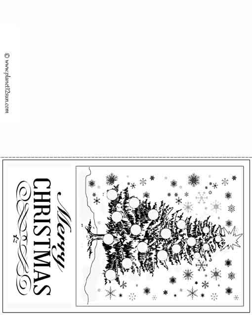picture about Printable Christmas Cards Black and White named Pin upon Absolutely free printable WORKSHEETS for youngsters.
