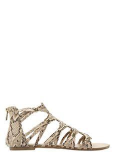 STEVE MADDEN Cretee braided Gladiator ankle sandals