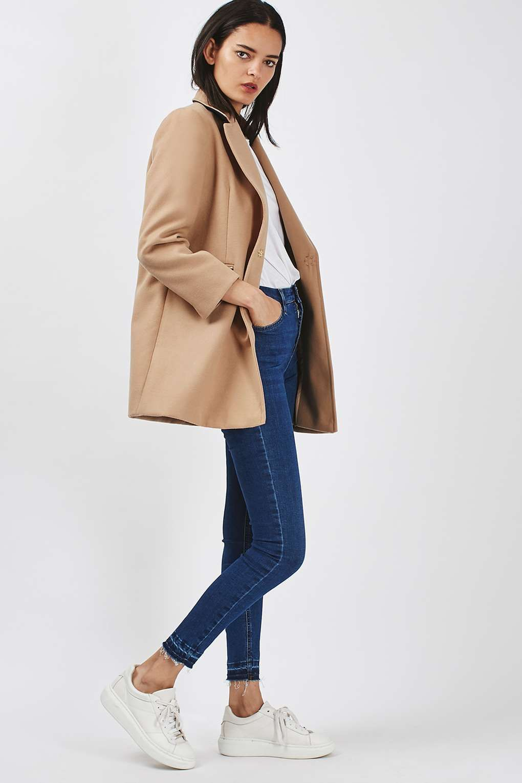 TALL Slim Fit Boyfriend Coat | Coats, Topshop and Petite sizes