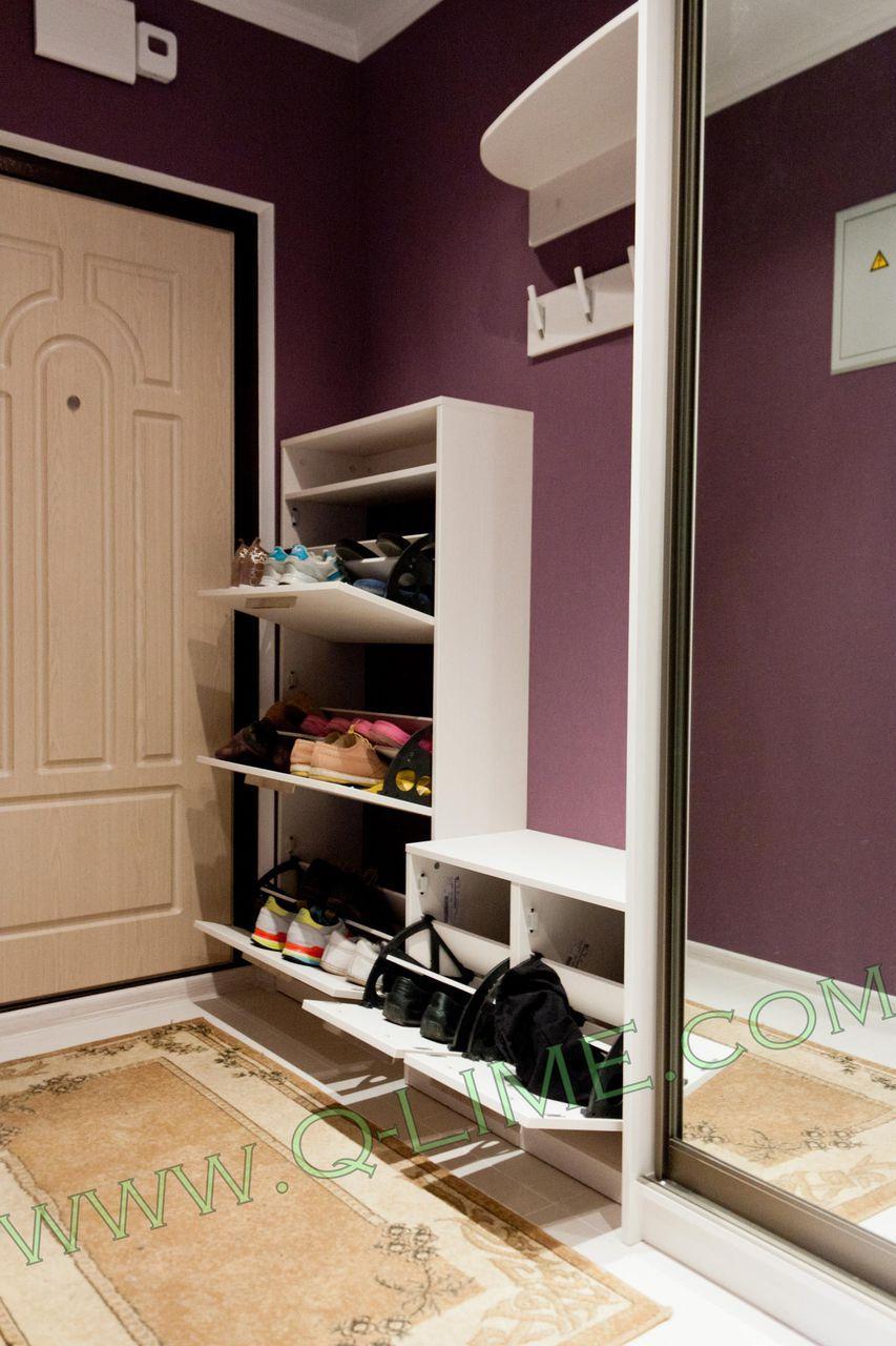 Прихожие для узких коридоров: подбираем мебель и выбираем ...