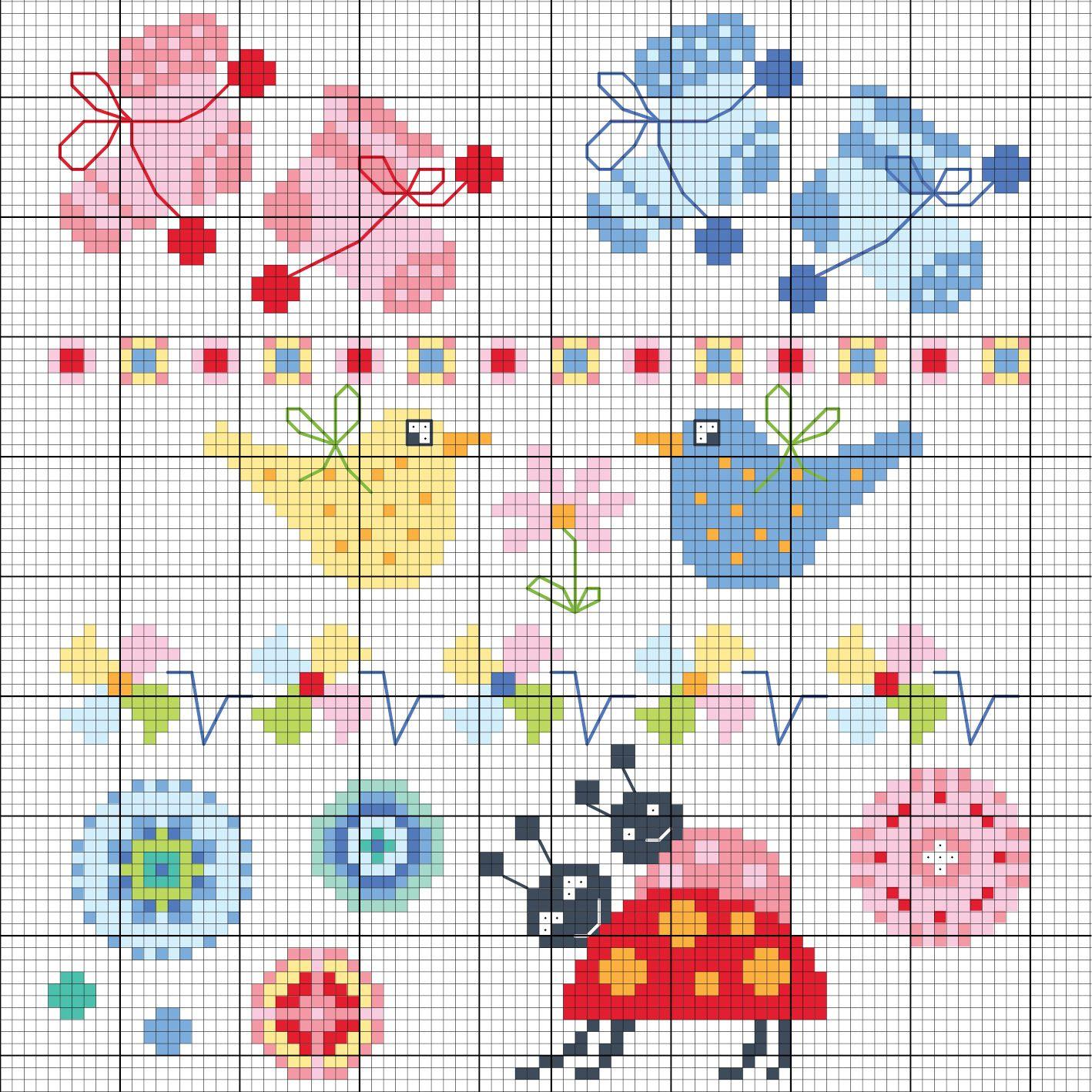 Sch ne baby motive sticken entdecke zahlreiche kostenlose charts zum sticken sticken - Sticken vorlagen kostenlos ...
