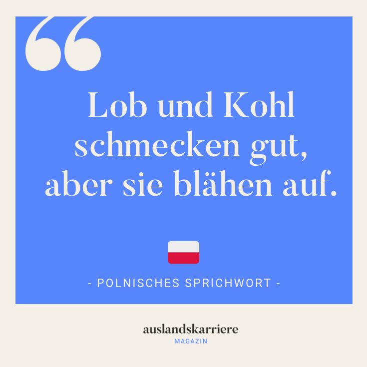 Polnisches Sprichwort Mehr Uber Interkulturelles Auf Auslandskarriere De Polen Sprichworter Motivation Zitate Coole Spruche Sprichworter Lustige Spruche