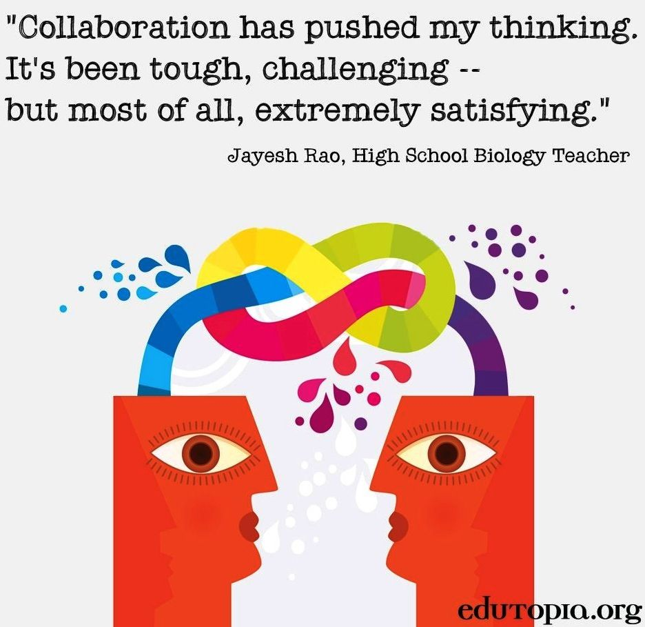 Collaborative Teaching Degree ~ Collaboration quote via topia collaborate