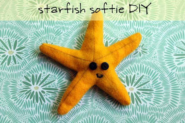 Starfish Softie DIY