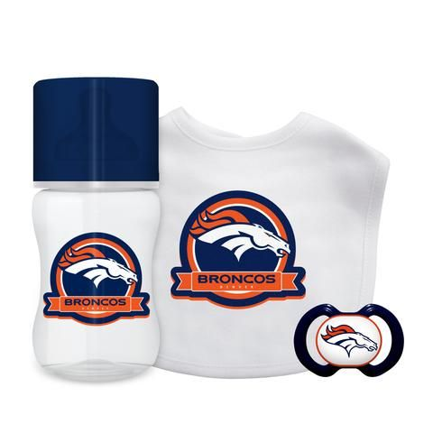 bce2e1d30 Denver Broncos Baby Gift Set 3 Piece  DenverBroncos