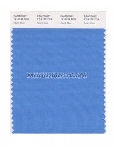 pantone smart 174139 tcx color swatch card azure blue