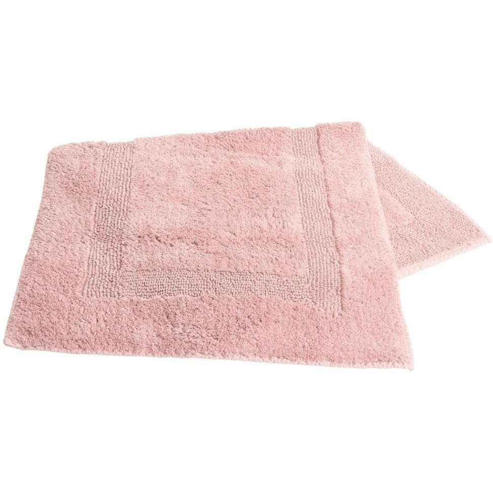 Light Pink Bathroom Rug Sets