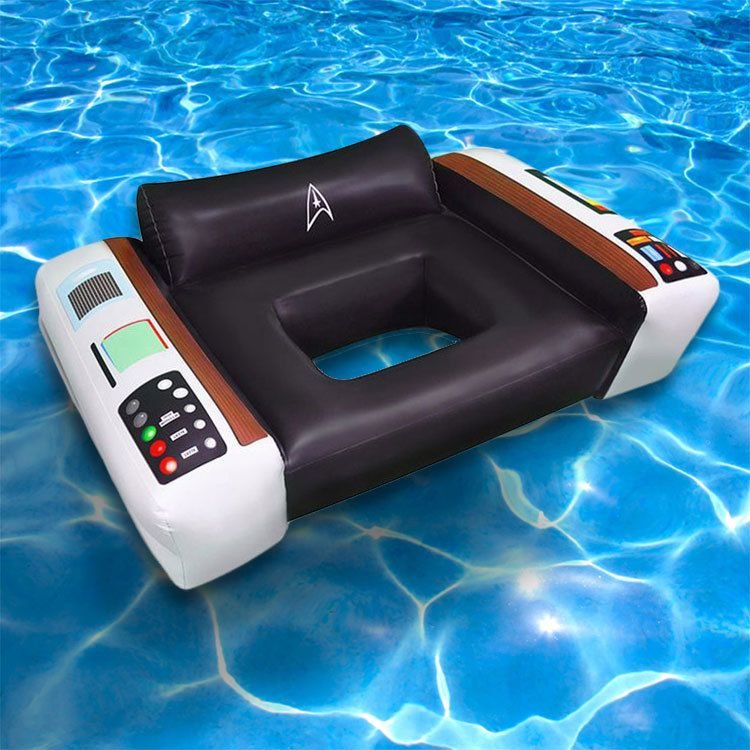 Star Trek Captainu0027s Pool Chair Float