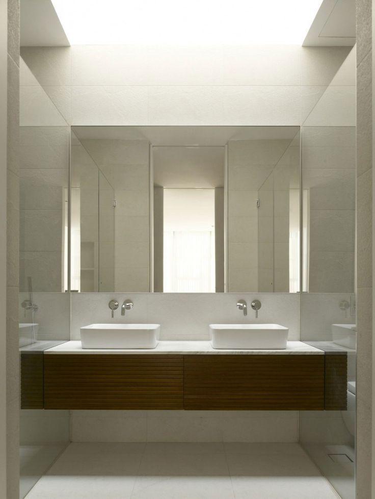 Moderne Badezimmer Spiegel Ideen Moderne Badezim Badezim Badezimmer Ideen Moderne Powderrooms Spiegel Modern Powder Rooms