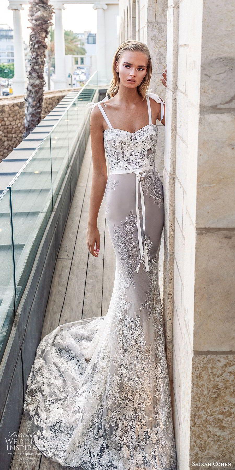 Shiran Cohen 2019 Wedding Dresses The Noble White Bridal