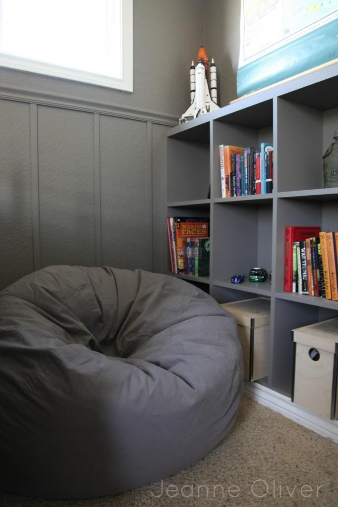 Teen Boy Bedroom Makeover before and after