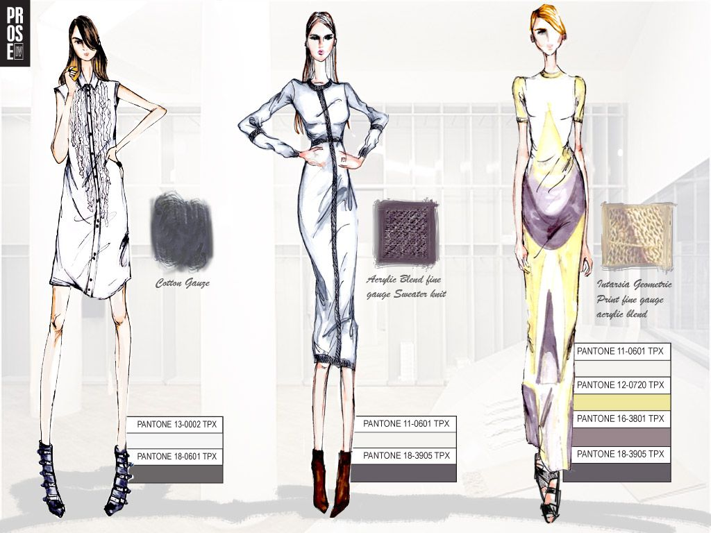 Creative Fashion Portfolio Cover Page