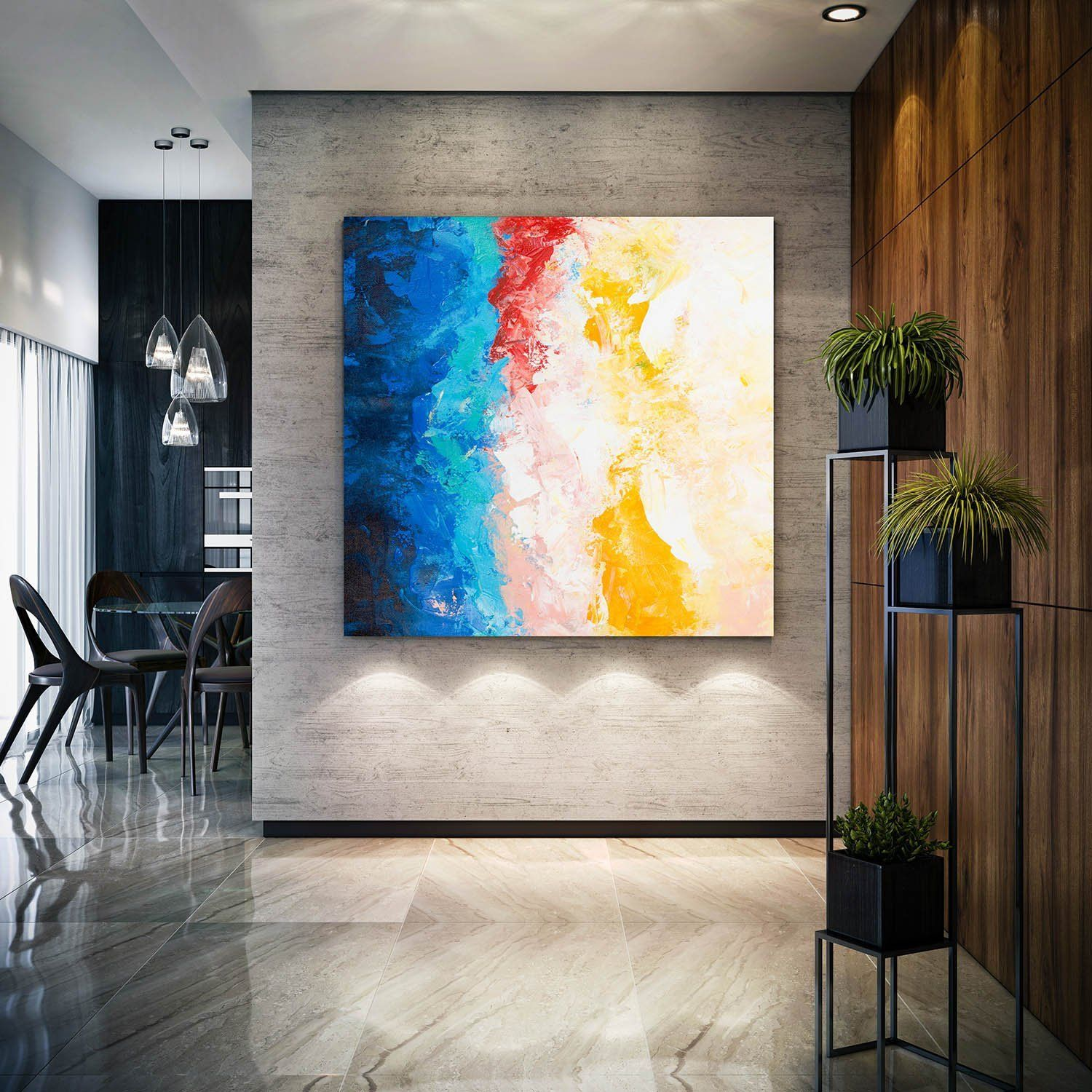 Large Original Paintings On Canvas,Abstract Canvas Art