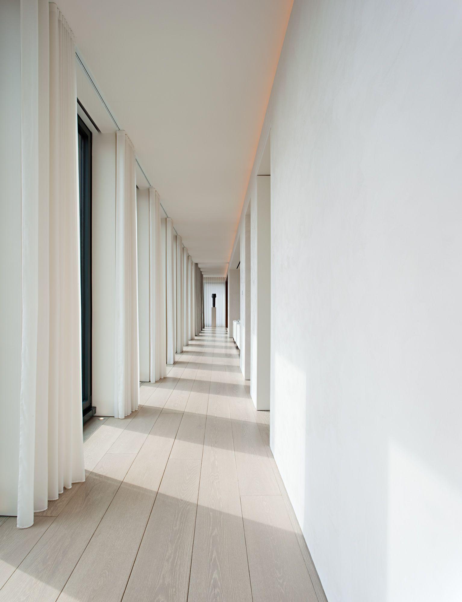 Lighting Basement Washroom Stairs: Beautiful, White Simplicity From Johnpawson.com/works