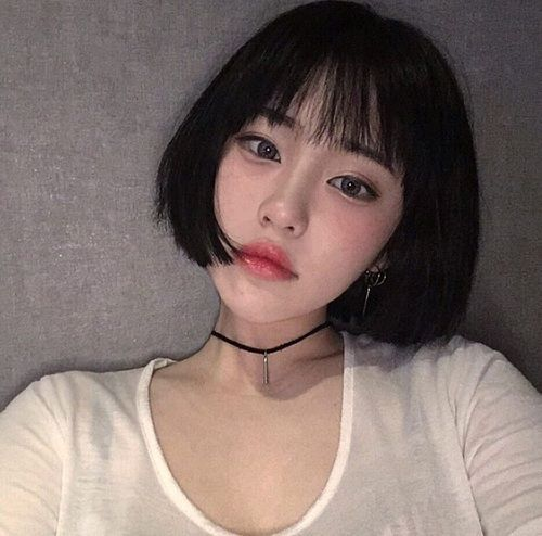 Asian Korean And Girl Image Ulzzang Short Hair Short Hair Styles Ulzzang Hair