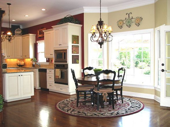 Attractive Kitchen Paint Colors   Ralph Lauren Barn Red (do Not Know The Beige Color)
