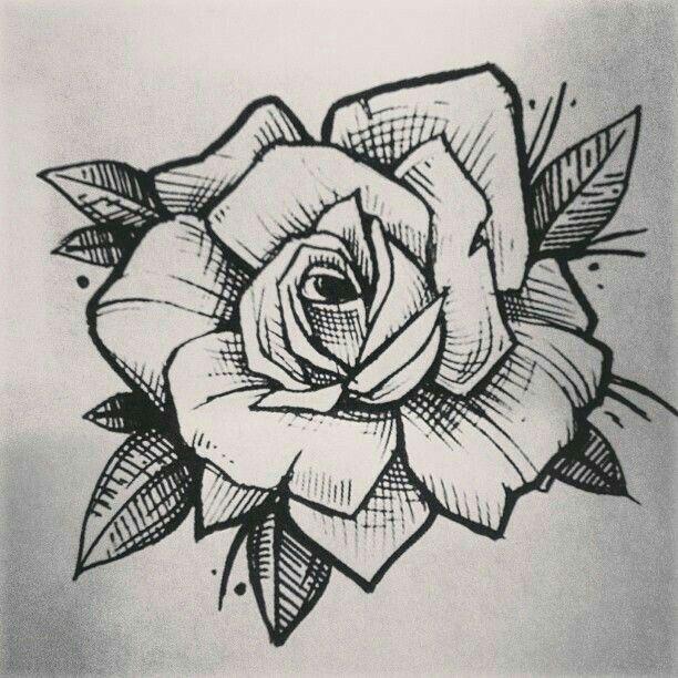 Pin de Juan Beltran en rosas Pinterest Rosas, Tatuajes y Dibujo - tatuajes de rosas