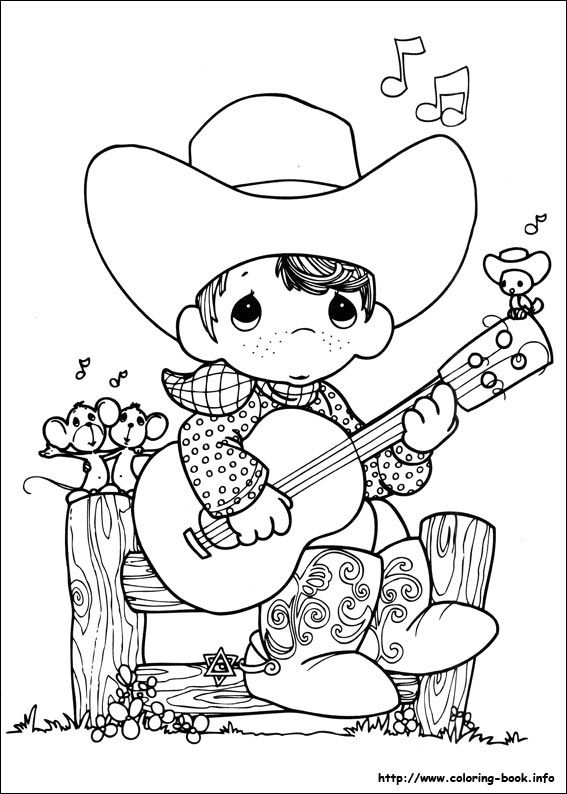 Precious Moments coloring picture Precious Moments Coloring