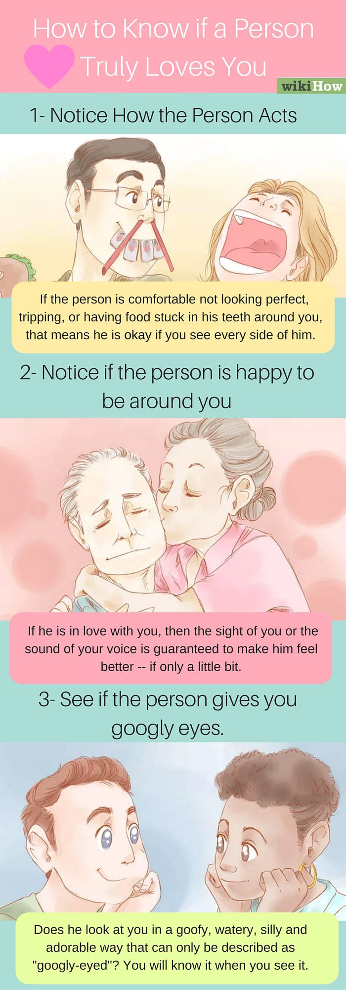 Know If A Person Truly Loves You Miscellaneous Crush Facts When