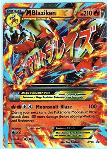 Mega M Blaziken Ex Pokemon Card Promo Xy 86 Ultra Rare Http