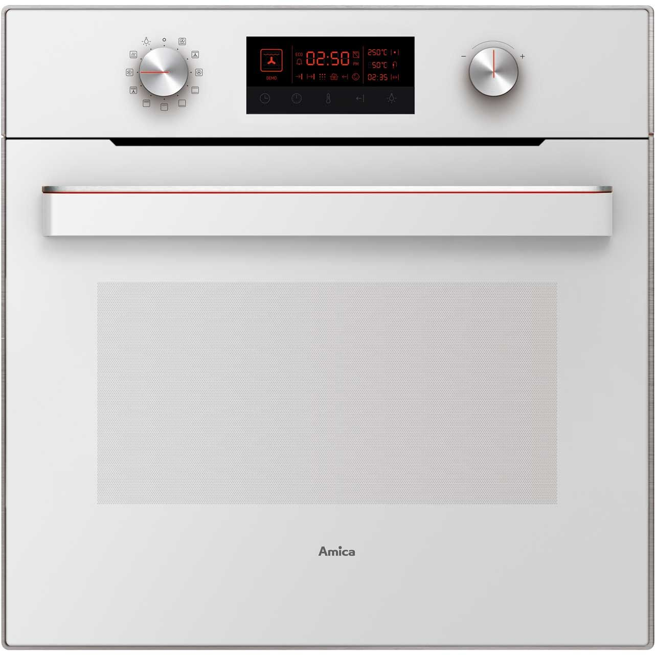 Amica In622w Built In Electric Single Oven White A Rated