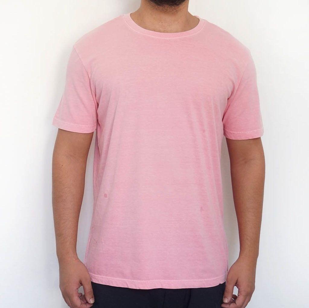 ee151fad6 Camiseta Estonada Lisa Rosa Premium
