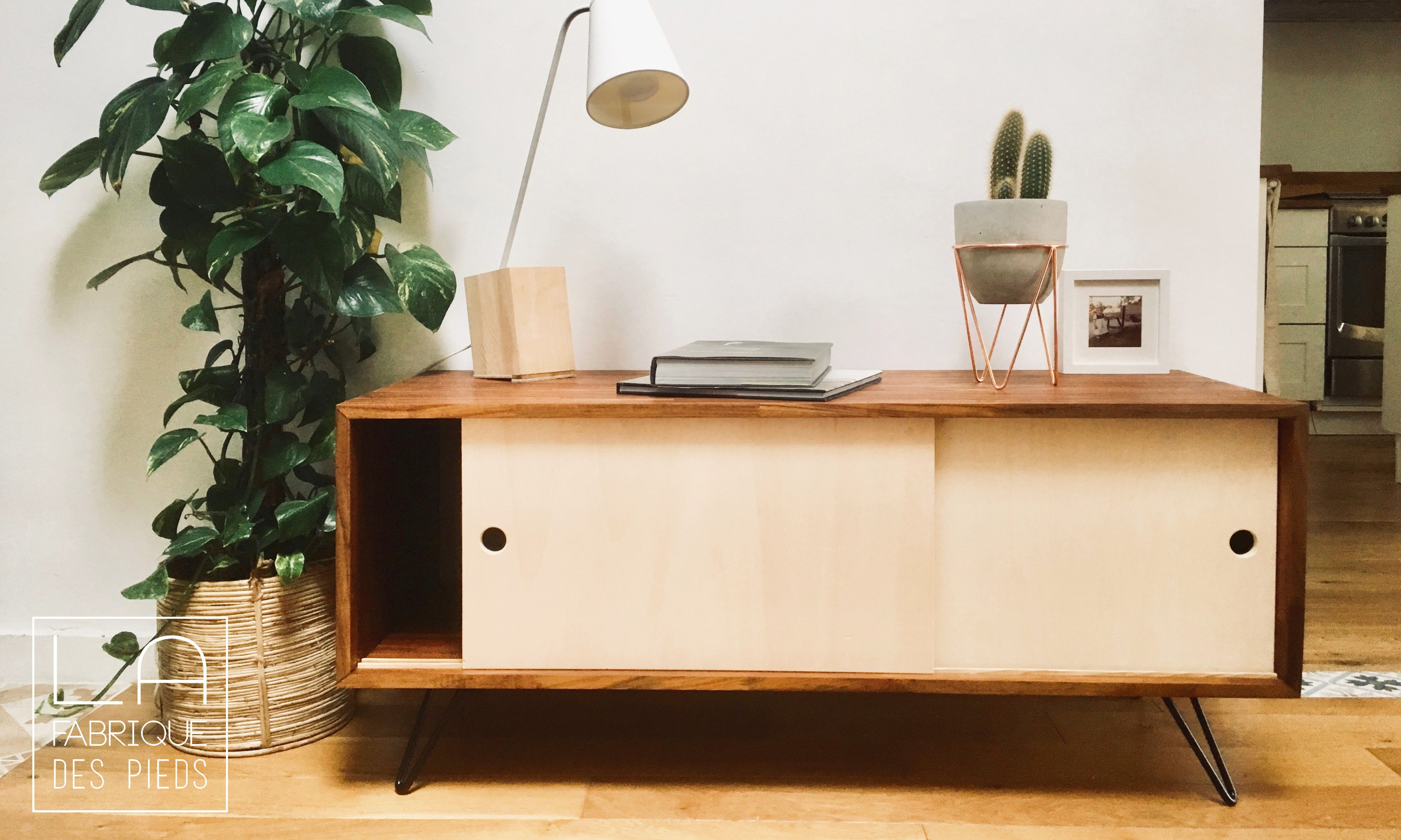 Rehausse Meuble Tv Ikea pied de meuble 15cm – hairpin legs en 2020 | pied meuble