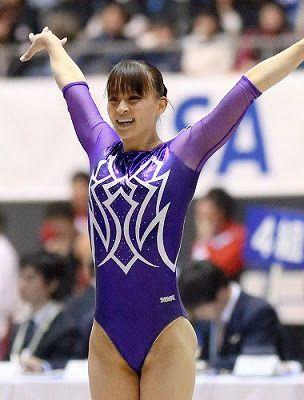 Erotic japanese gymnast