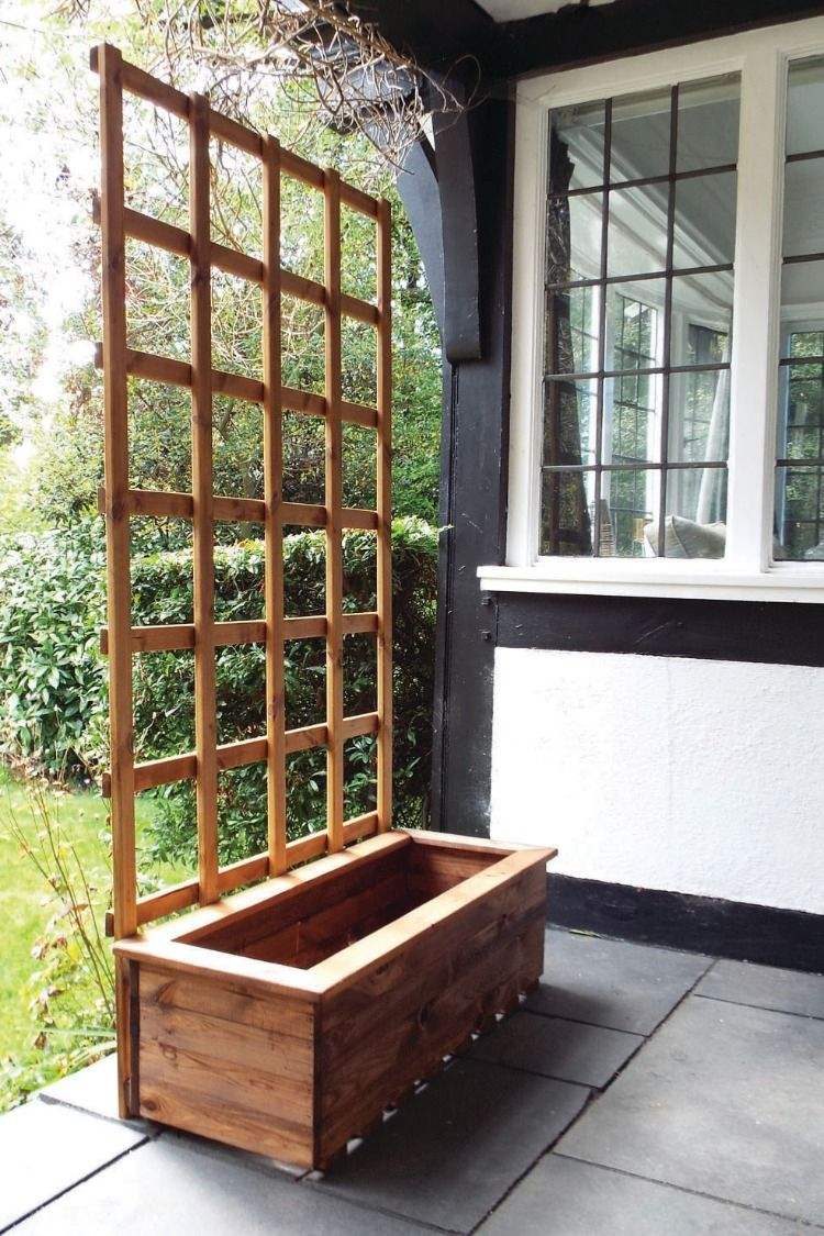 Trough Planter (With images) Diy