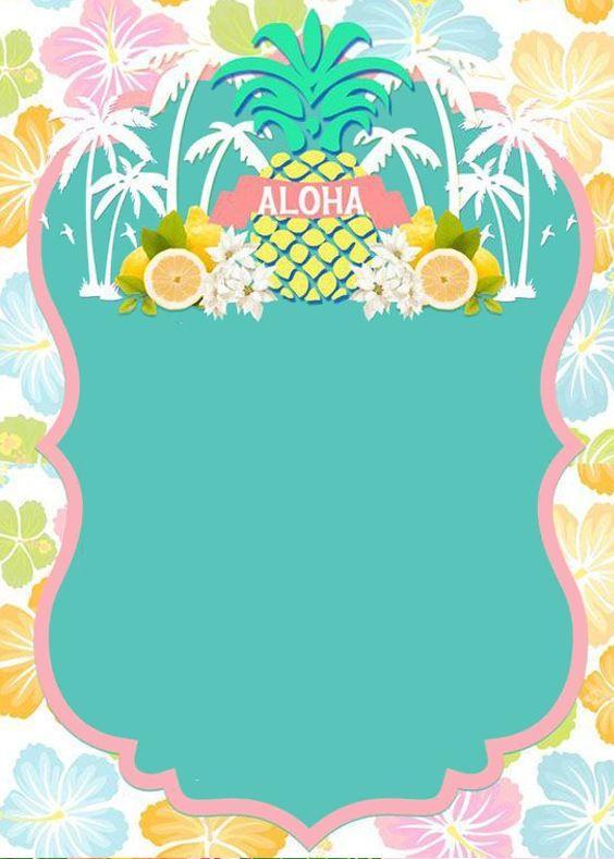 Pin De Lilian Noemi Quiñonez Gomez De En Flamingo Invitaciones Hawaianas Invitaciones De Fiesta Invitaciones Para Fiesta De Piscina