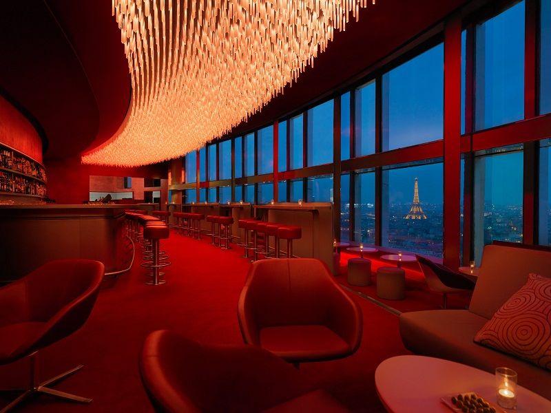 Extrêmement Hotel Hyatt Regency Paris Etoile, ex-Concorde La Fayette sur  TL79
