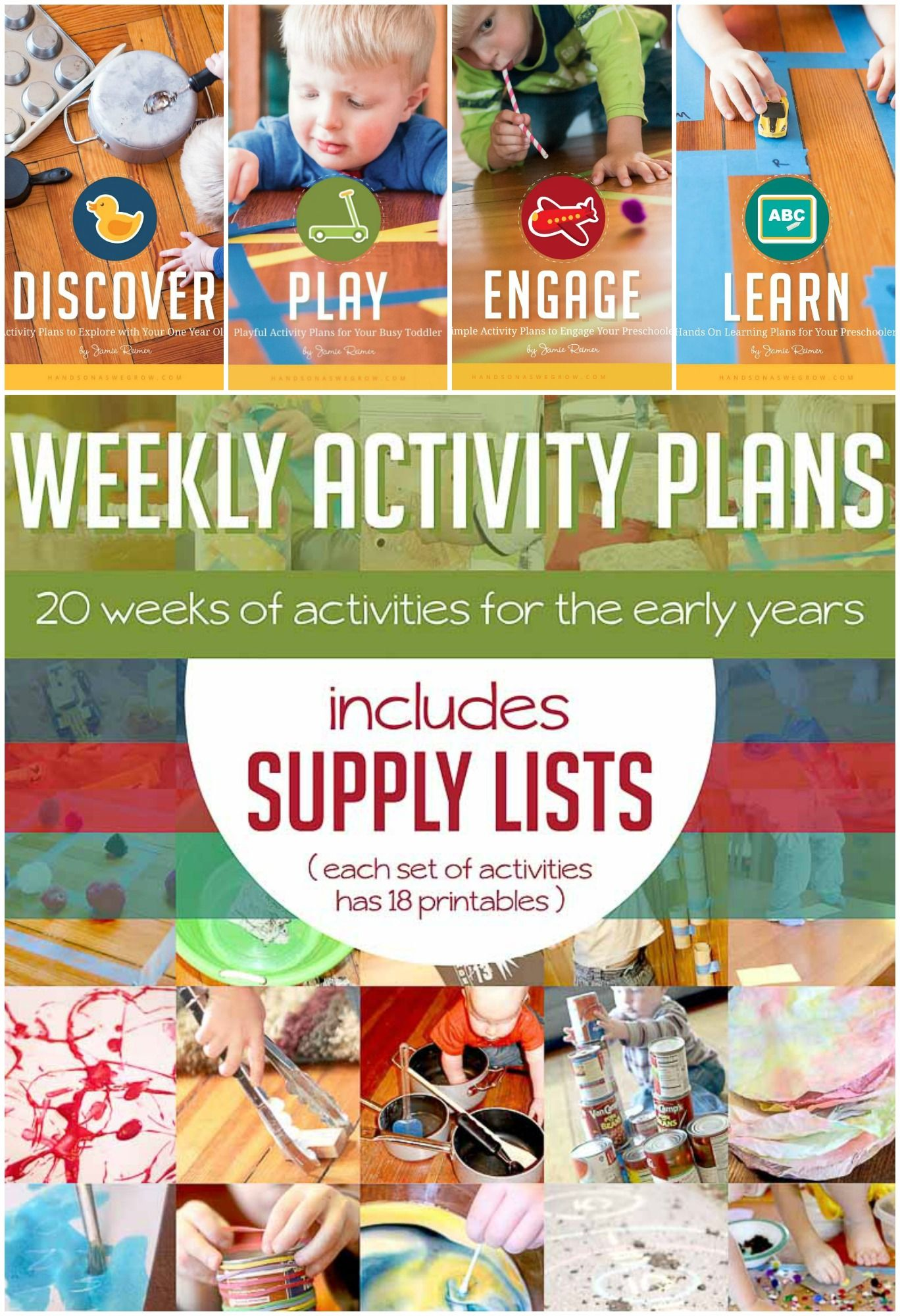 EARLY YEARS BUNDLE OF ACTIVITIES! Get the complete resource of activities. Activity plans that are actually doable and a super quick way to be more present with your kids. Make it super easy to have fun with your kids and be the parent you keep dreaming you will be. (AD)