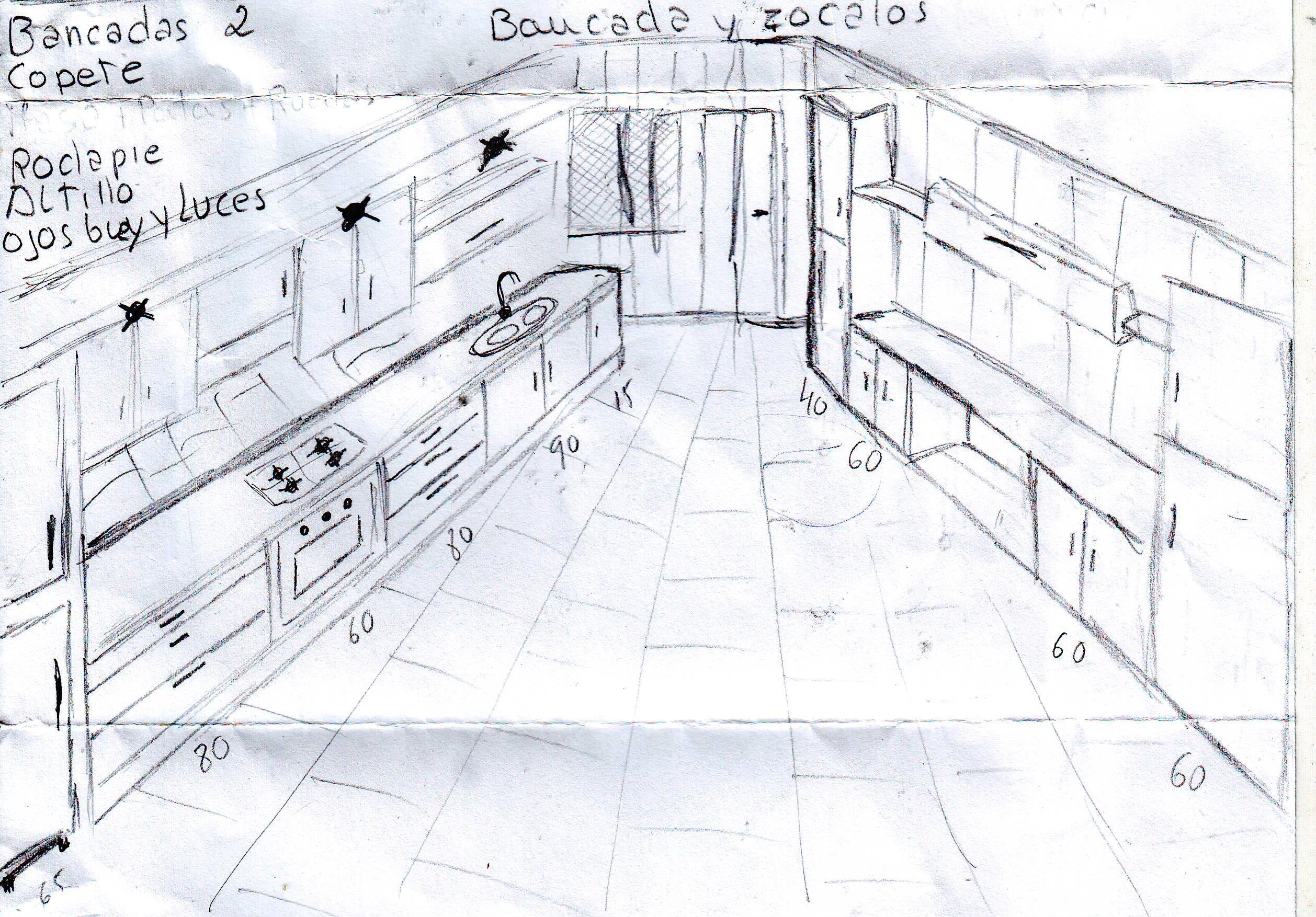 Dibujo Mano Alzada Del Diseno De Mi Cocina Landmarks Travel Louvre