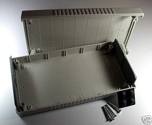 1pc Abs Plastic Box Cabinet Case G452 190x100x40mm Lxwxh Gray Gainta Taiwan Box Plastic Grey