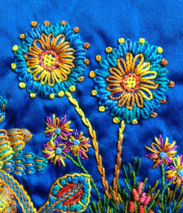 Balance: Making Flowers on Silk #10 | Artfabrik