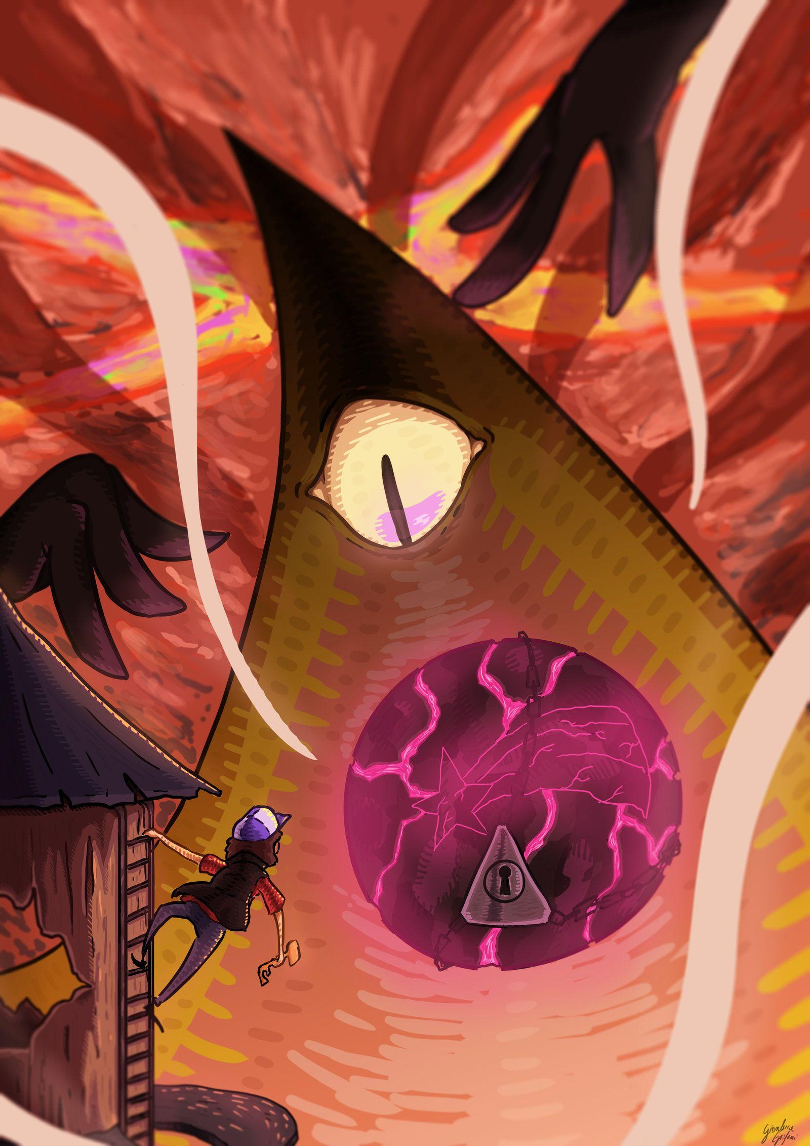 Reverse Falls Will Cipher Wallpaper Gravity Falls Weirdmageddon By C U Po Gravity Falls