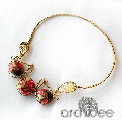 wireswirl necklace  See more :  www.archideeonline.it  www.youtube.com/user/archideedidiana  www.facebook.com/diana.archidee