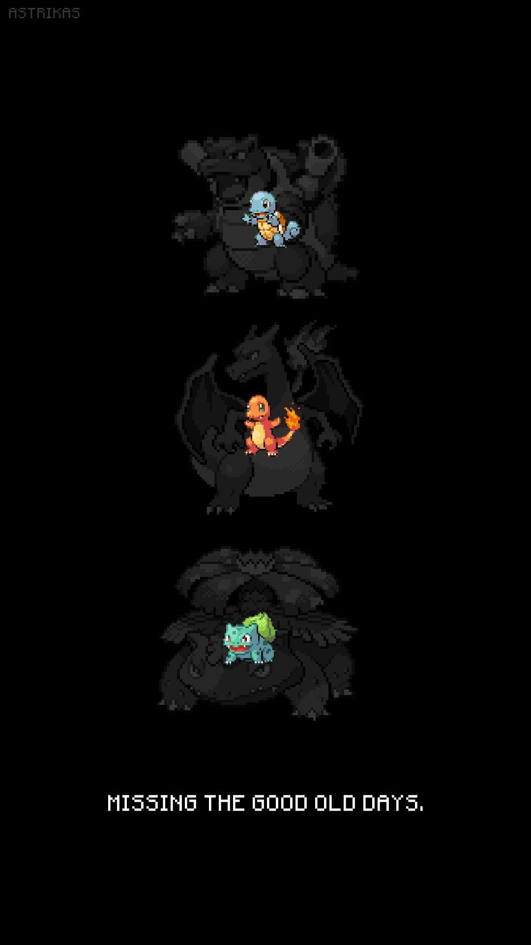 Pokemon First Generation Charizard Bulbasaur Iphone Pokemon