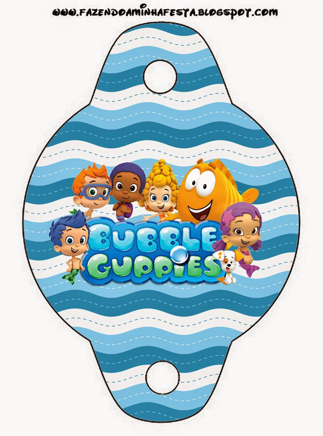 Bubble Guppies Free Party Printables Check Out The Whole