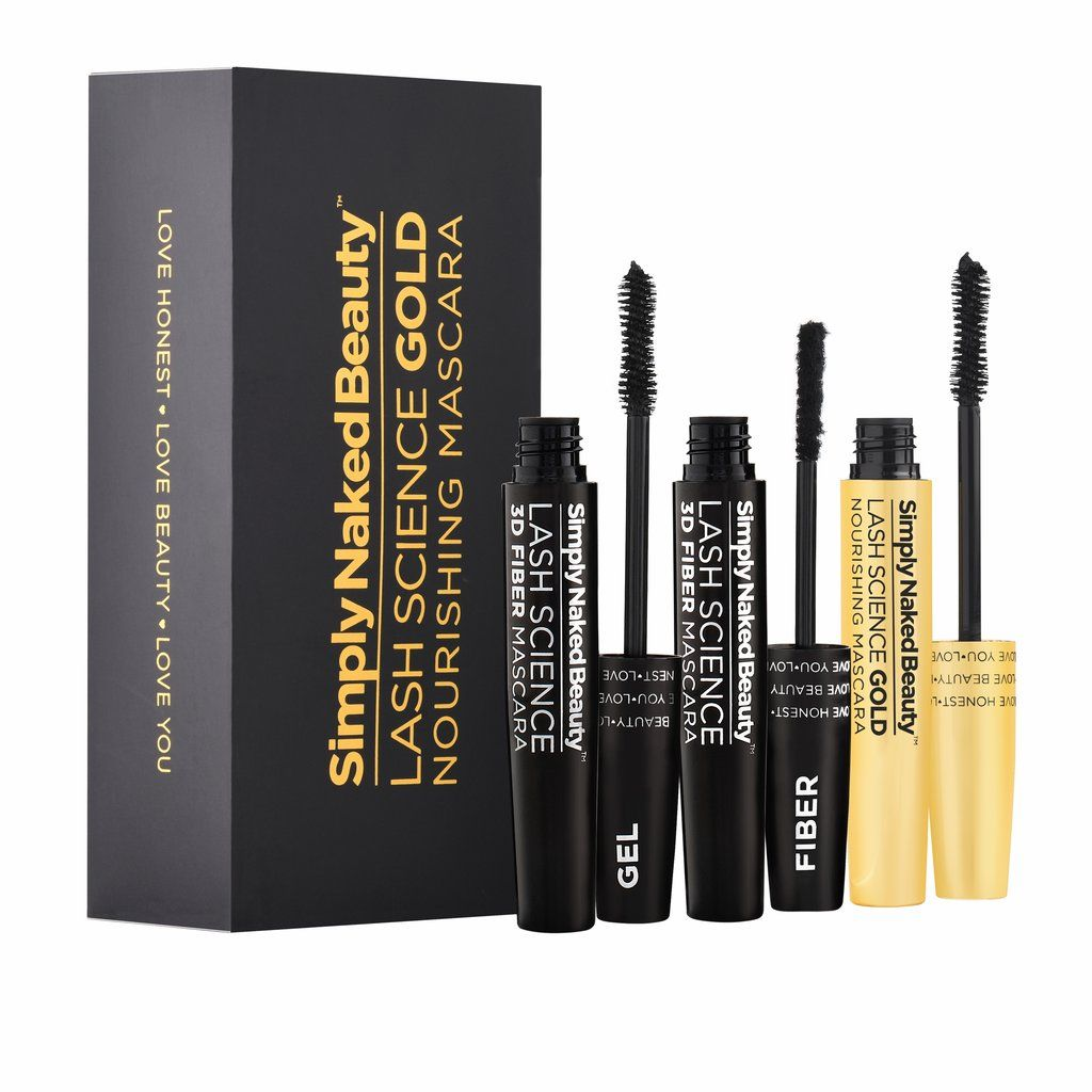 f8dc90f5c85 Lash Science Gold - 3D Fiber Lash Nourishing Mascara - Simply Naked Beauty