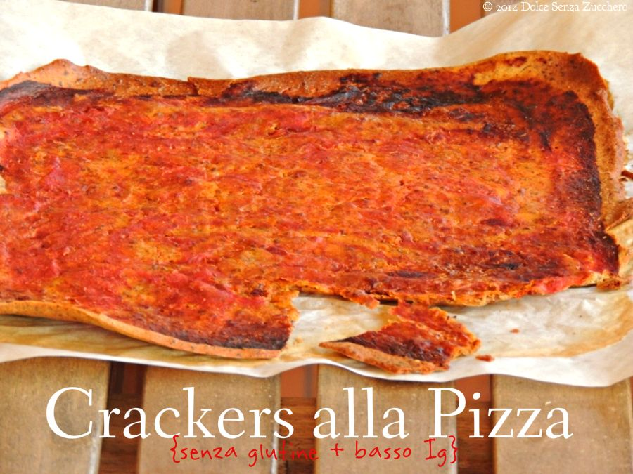 crackers alla pizza