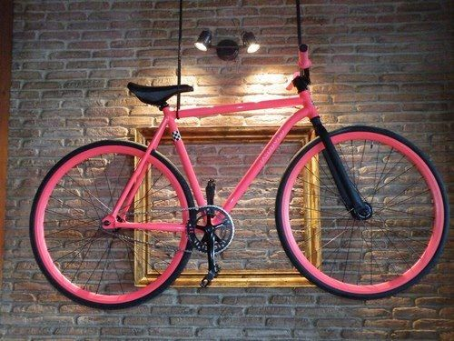 Pink in Frame